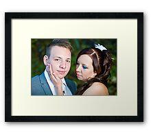 Sylvia and Raphael (3) Framed Print