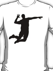 Volleyball Spike Silhouette T-Shirt