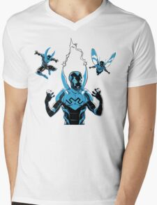 Blue Beetle - I Did It With Science! Mens V-Neck T-Shirt
