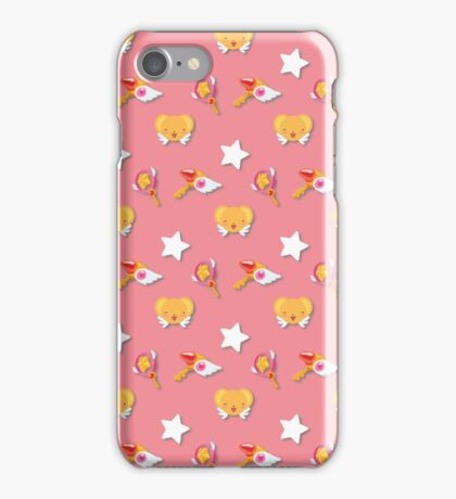 Card Captor Sakura Pattern iPhone Case/Skin