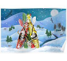 Kayak Christmas Tree - Wonders of Nature Poster