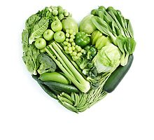 Veggies good for the heart by kobalos
