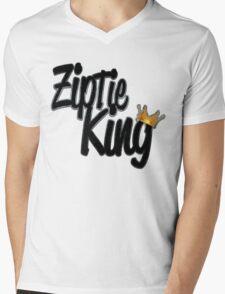 Zip Tie King Mens V-Neck T-Shirt