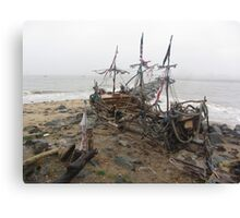 THE BLACK PEARL SHIP Canvas Print