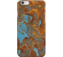 Blues and Rusts iPhone Case/Skin