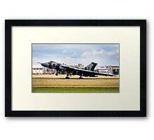 XH558 Touch down Framed Print