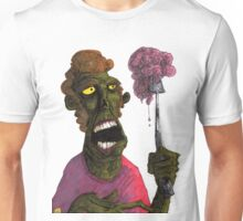 Brain on a fork Unisex T-Shirt