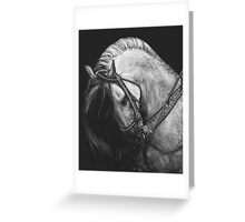 Silver Belle Greeting Card