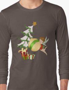 Christmas Magic Fairy Long Sleeve T-Shirt