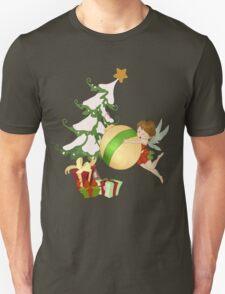 Christmas Magic Fairy Unisex T-Shirt