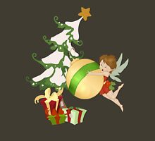 Christmas Magic Fairy Womens Fitted T-Shirt