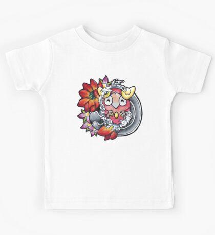 Darumaka - Pokemon tattoo art Kids Tee