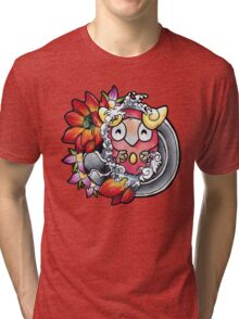 Darumaka - Pokemon tattoo art Tri-blend T-Shirt