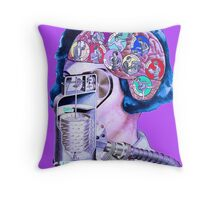 Postmodern Hairdryer. Throw Pillow