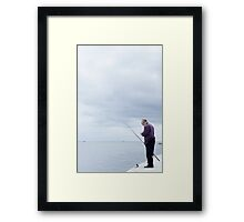Occasion Fisherman Framed Print