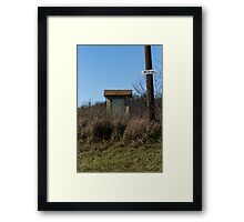 no drugs Framed Print