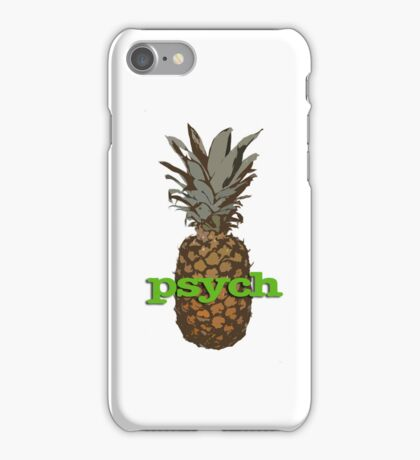 Psych Pineapple iPhone Case/Skin