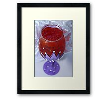 Jelly Queen Framed Print