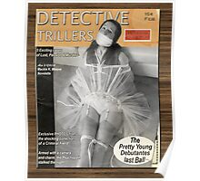 Detective Trillers Magazine February Poster