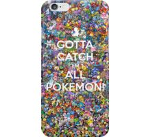 Cotta Catch 'em All iPhone Case/Skin