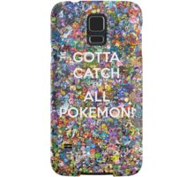 Cotta Catch 'em All Samsung Galaxy Case/Skin