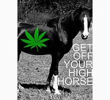 GET OFF YOUR HIGH HORSE. Unisex T-Shirt