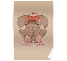 Pangu The Moustachioed Poster