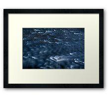 Rushing River Framed Print