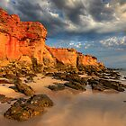 Cliffs of Cape Leveque by Sandra Anderson