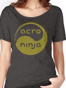 Acro Ninja - gold Women's Relaxed Fit T-Shirt