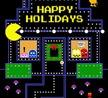 Arcade Holiday by MSRowe Art and Design