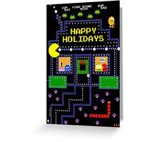 Arcade Holiday Greeting Card