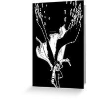 Angel Slayer (dark version) Greeting Card