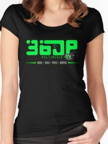 360pm Lime Women's Fitted Scoop T-Shirt
