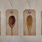 Wooden Spoons by Simone Riley