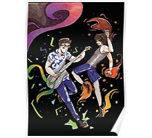 Psychedelic Friends Poster