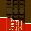 Chocolate bar iphone by erndub