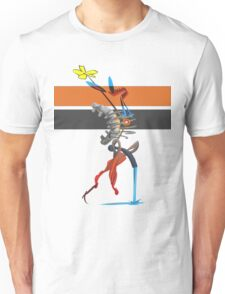 FlowersFireWater Unisex T-Shirt
