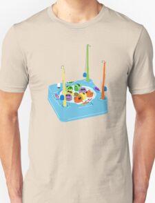 Magnetic Fishing Game- 90s Nostalgia Unisex T-Shirt