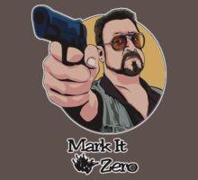"""Mark It Zero"" One Piece - Short Sleeve"