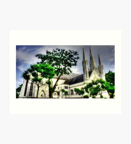 St. Andrews Cathedral Singapore Art Print