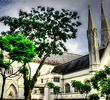 St. Andrews Cathedral Singapore by William  Teo Photography