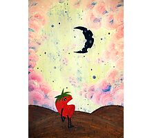 Mister Strawberry Cries at the Moon Photographic Print