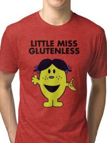Little Miss Glutenless Tri-blend T-Shirt