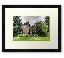 Tilt-Shifting Framed Print