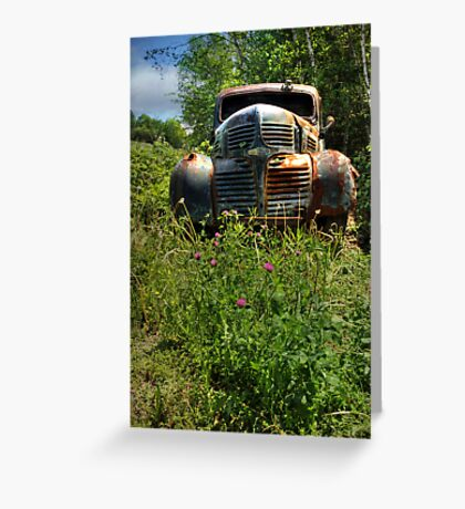 Spare Parts Greeting Card