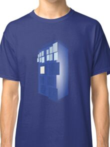 Abstract Dr Who TARDIS  Classic T-Shirt