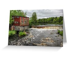 Abandoned Mill Greeting Card