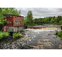 Abandoned Mill Photographic Print