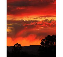 A perfect sunset  Photographic Print